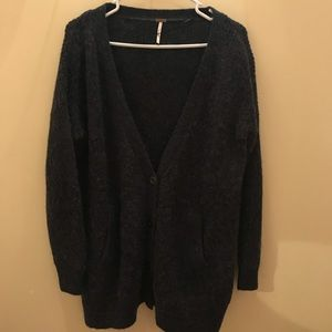 Cozy Free People Over-sized Cardigan